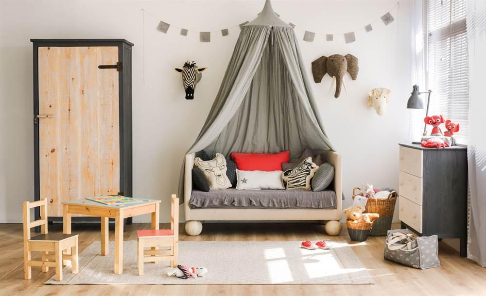 c7f102c01 Habitaciones de niños diseñadas con el método Montessori