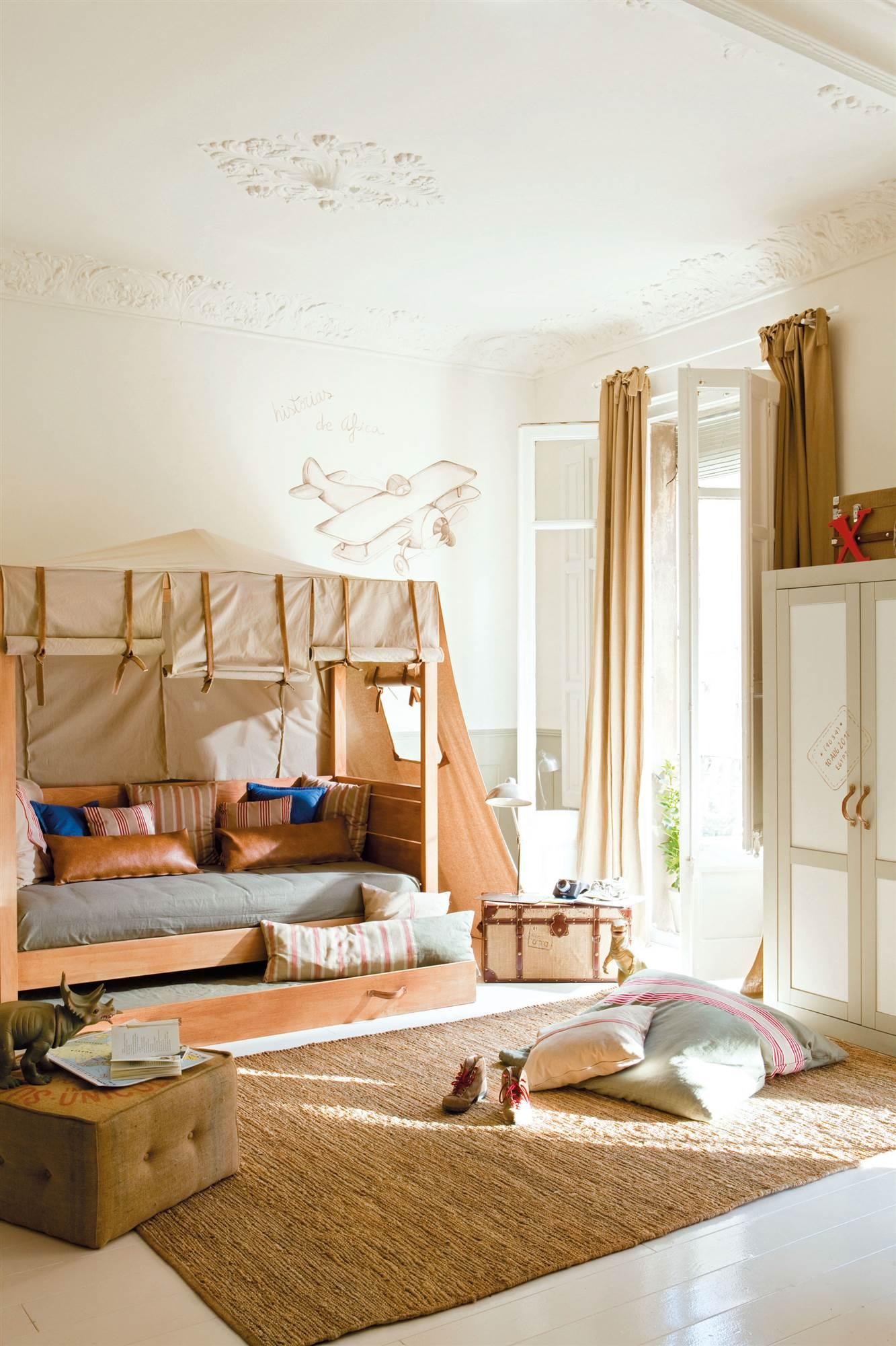 Las 50 mejores habitaciones infantiles y juveniles de el for Bona nit muebles