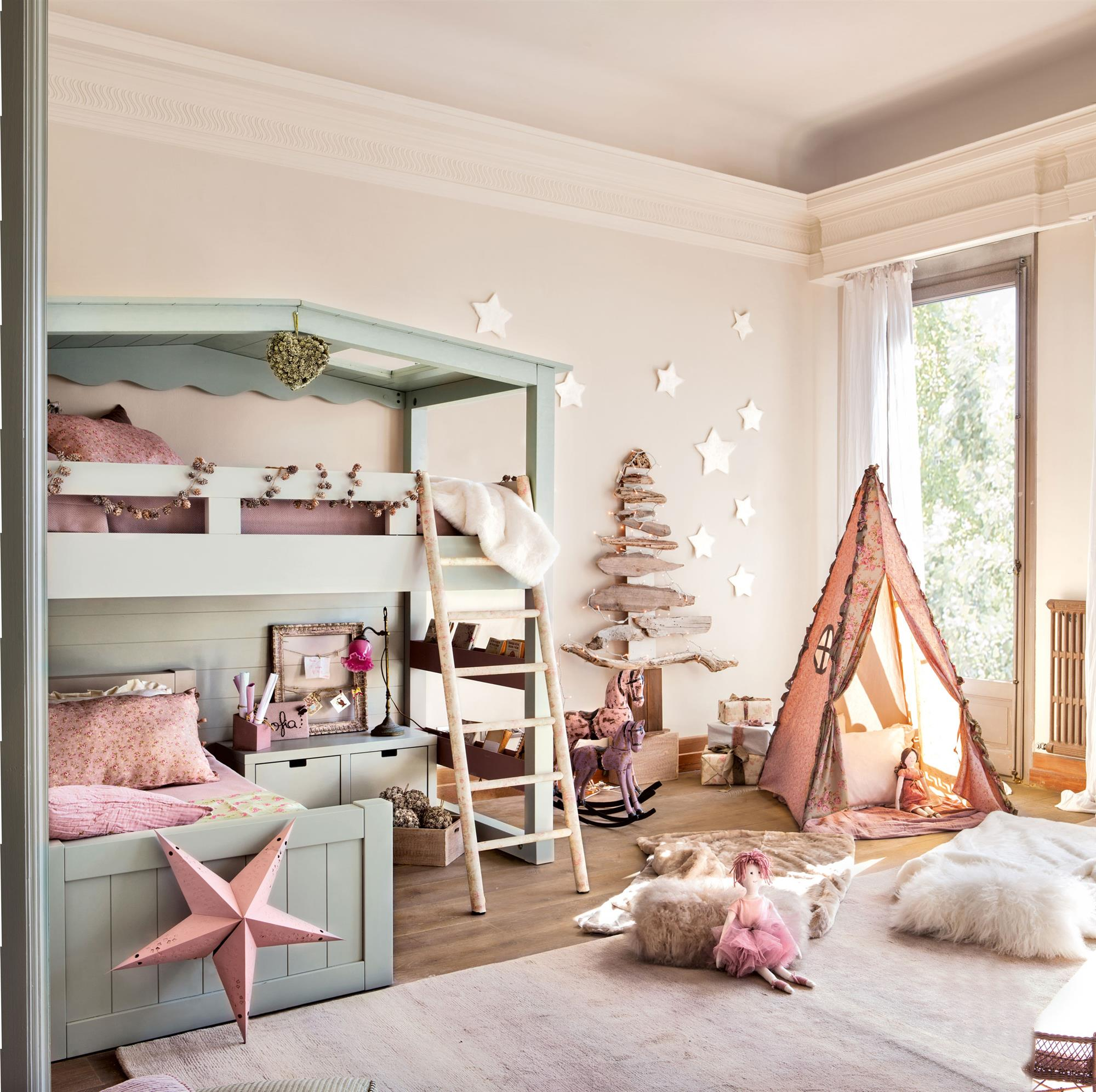 Las 50 mejores habitaciones infantiles y juveniles de el - Habitaciones infantiles decoradas ...