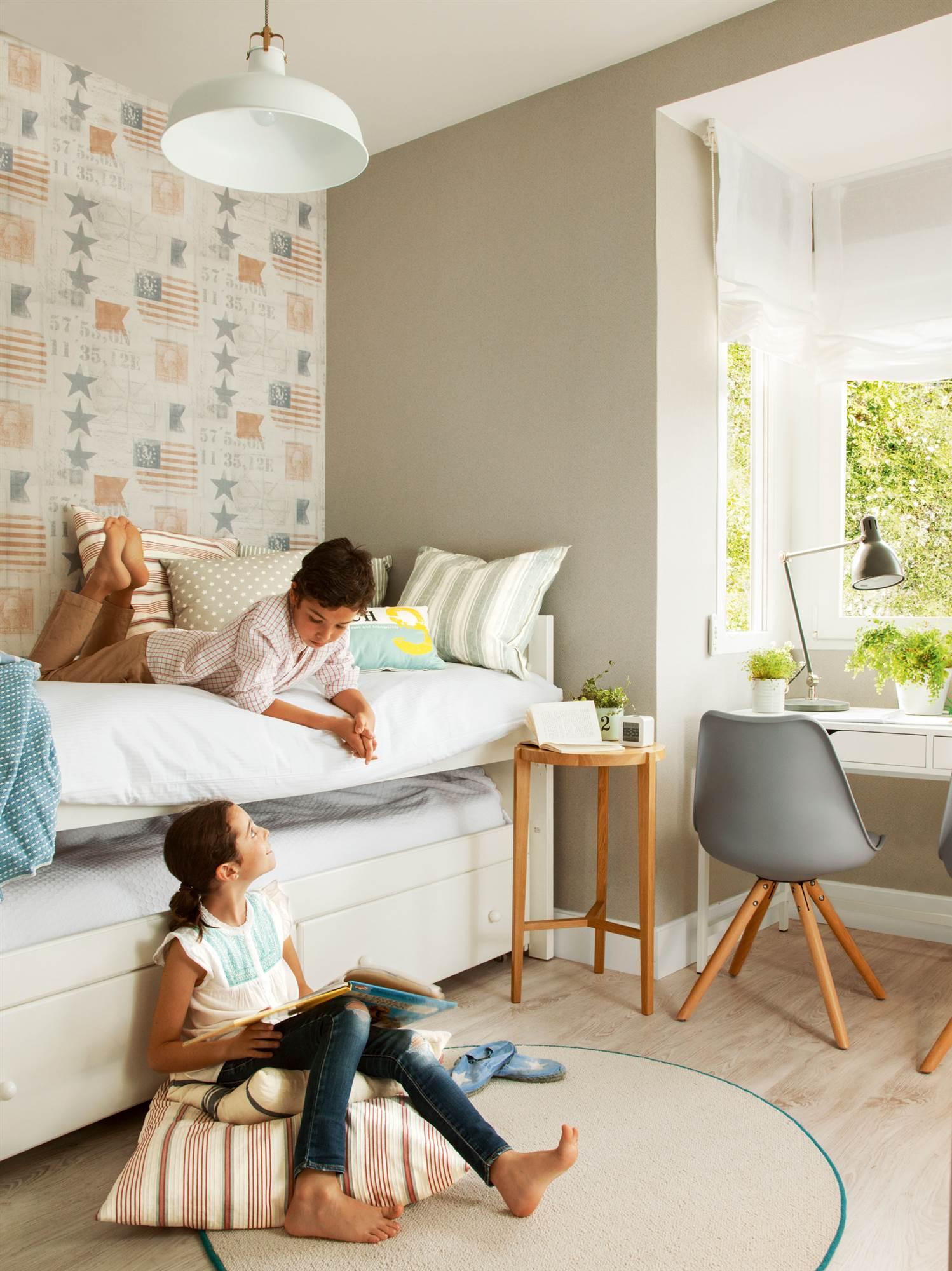Habitaciones infantiles y juveniles las 50 mejores de el - Vtv muebles infantiles ...