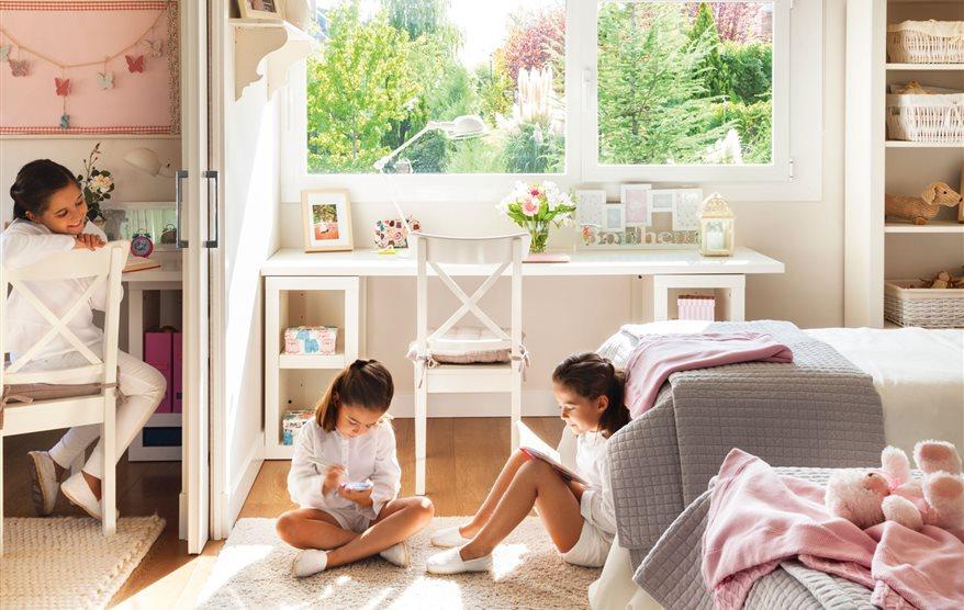 Las 50 mejores habitaciones infantiles y juveniles de el - El mueble habitaciones infantiles ...