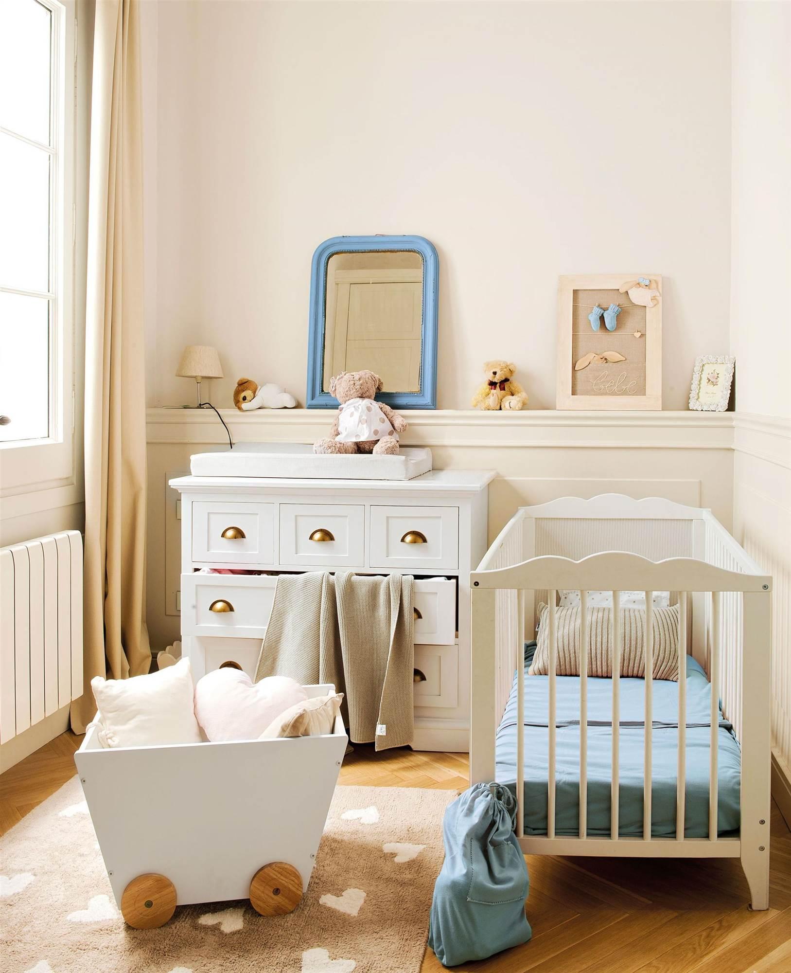 Iluminar bien el cuarto del bebé