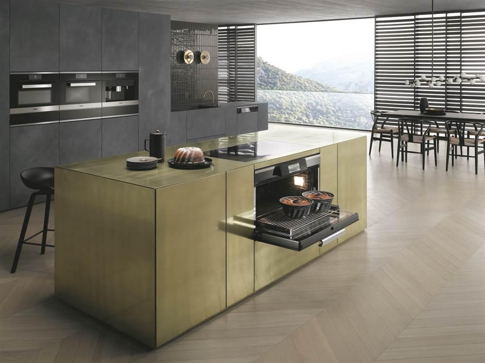Descubre como es la cocina del futuro con miele for Cocinas completas con electrodomesticos