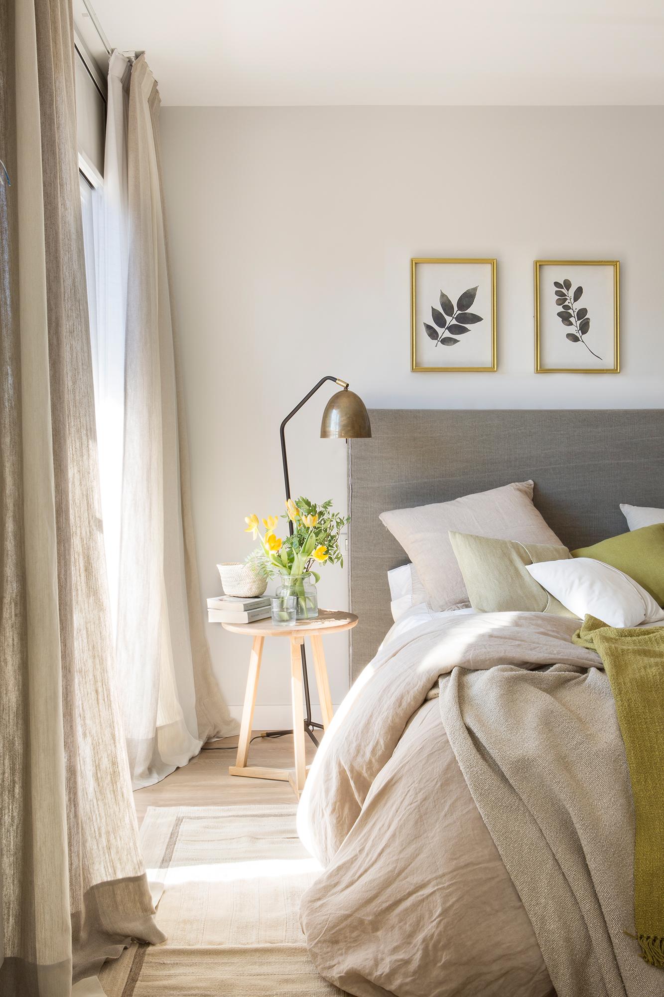 25 dormitorios modernos estilo el mueble - Cuadros para dormitorios leroy merlin ...