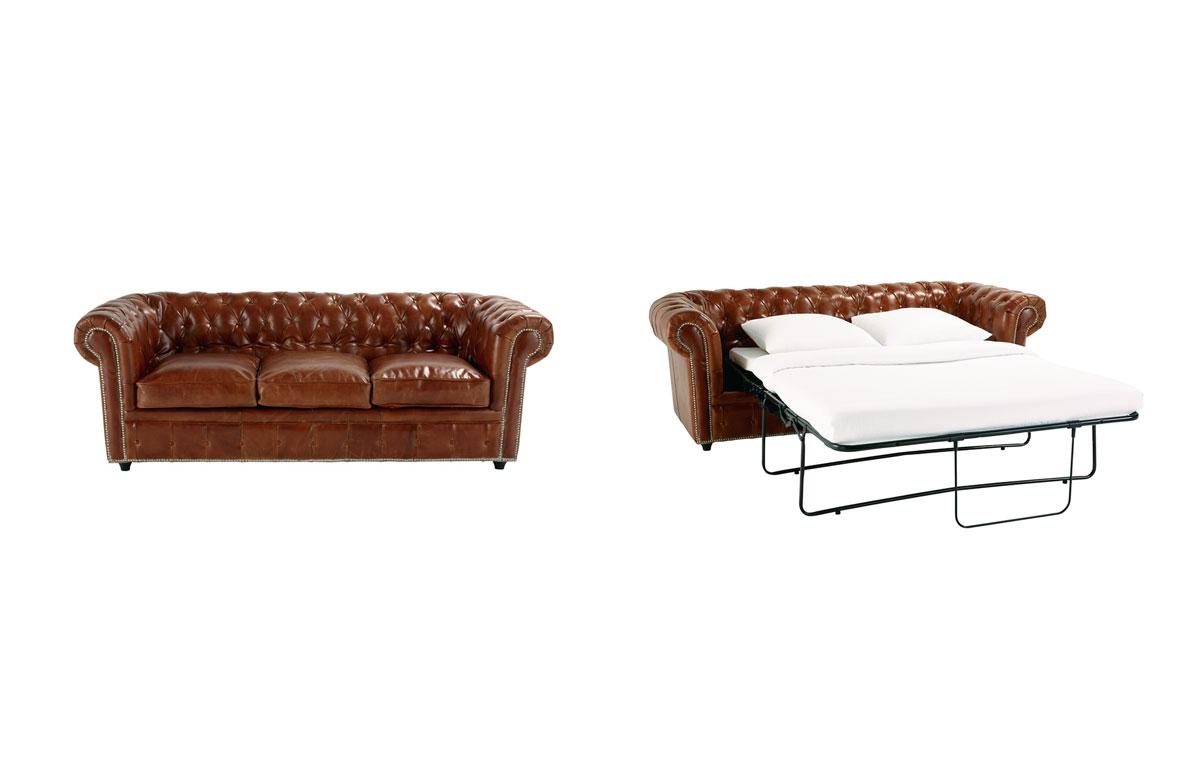 Los mejores sof cama - Sofa chester piel ...