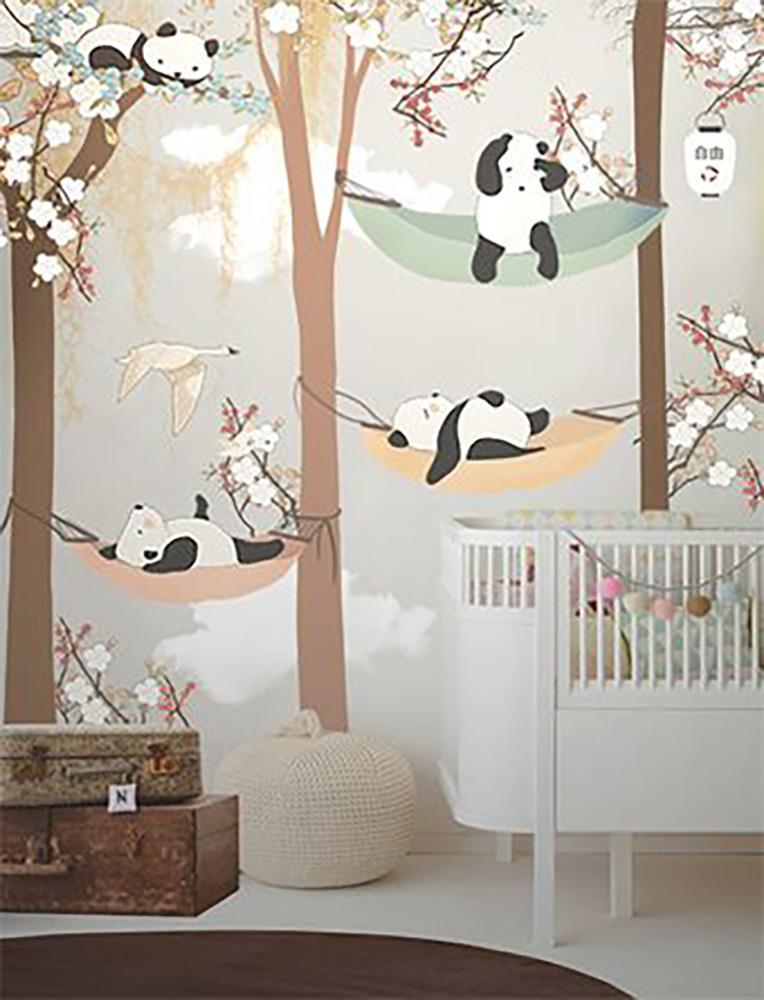 Habitaciones infantiles con papel pintado - Habitacion con papel pintado ...