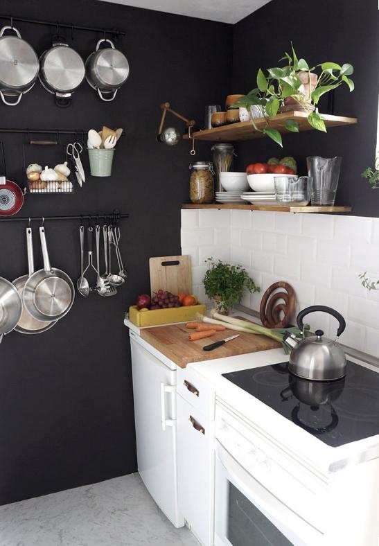 Cocinas muebles decoraci n dise o blancas o peque as elmueble - Limpiar azulejos cocina para queden brillantes ...