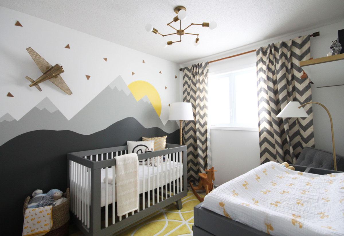 Vinilos Para Decorar Habitaciones Infantiles.Habitaciones Infantiles Con Papel Pintado