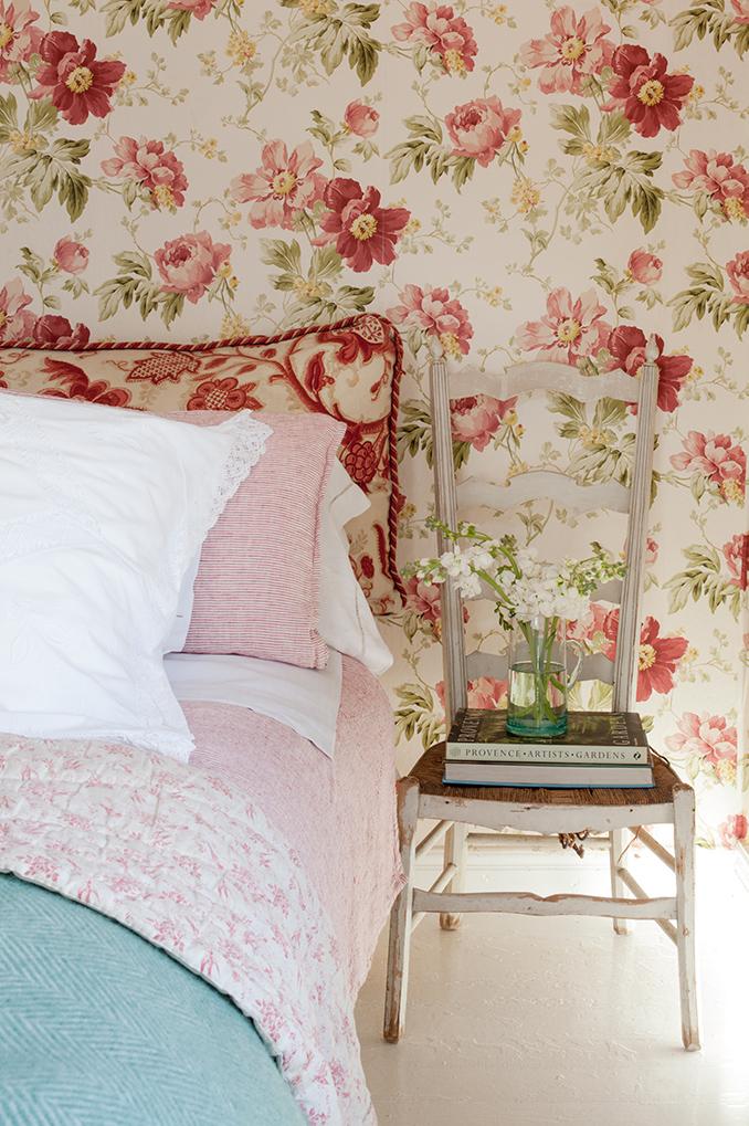 Dormitorio Con Papel Pintado 00457374 O