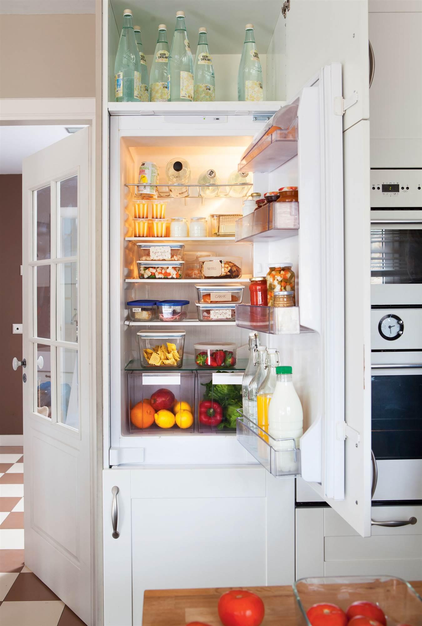 14 fotos de frigor ficos - Nevera panelada ...