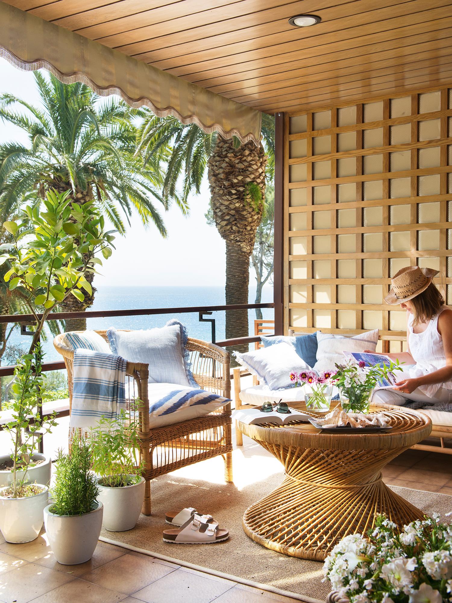 414 fotos de terrazas for Muebles para terraza pequena