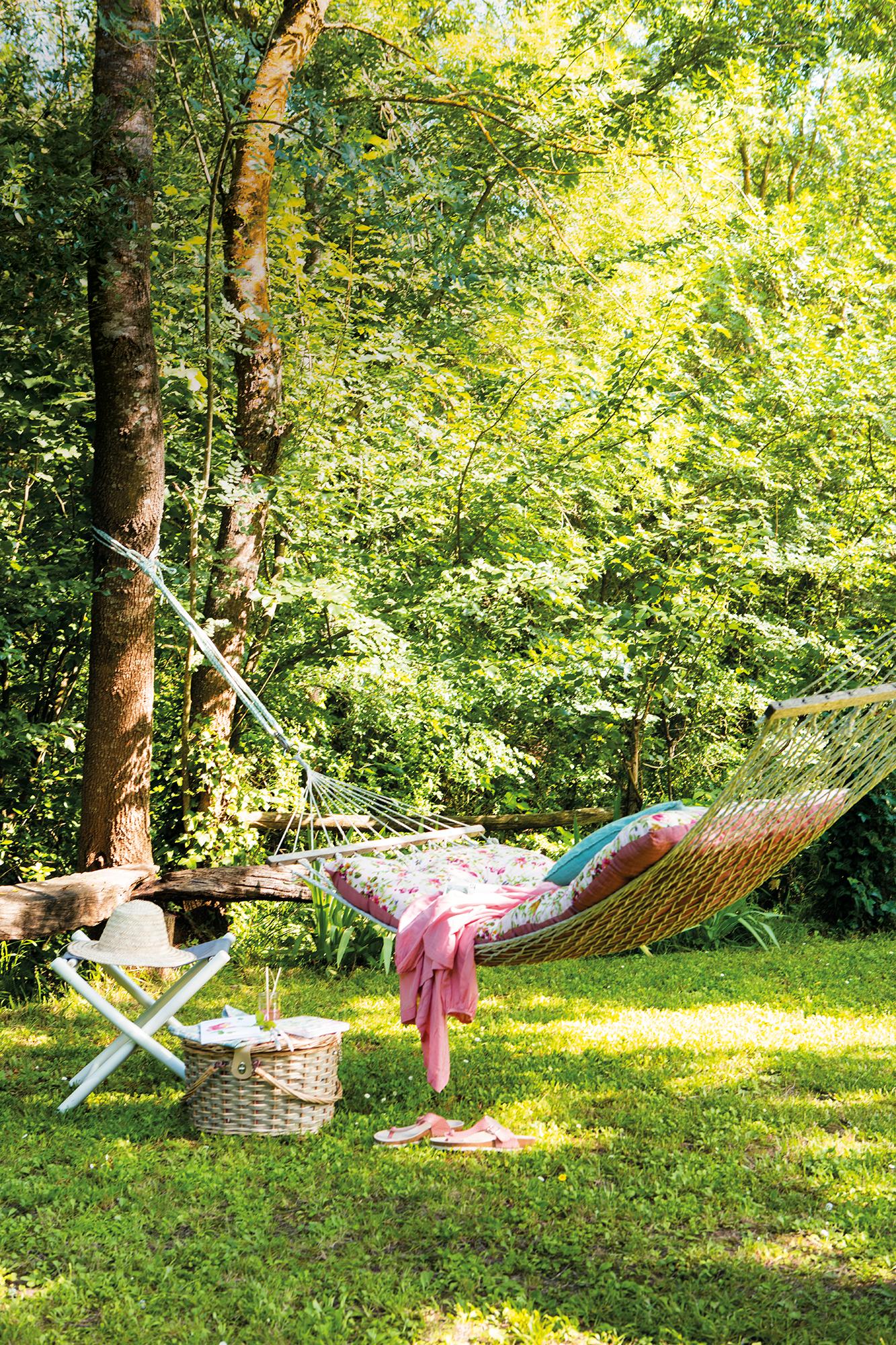 Jardines todo sobre la decoraci n de jardines de casas - Hamaca exterior ...