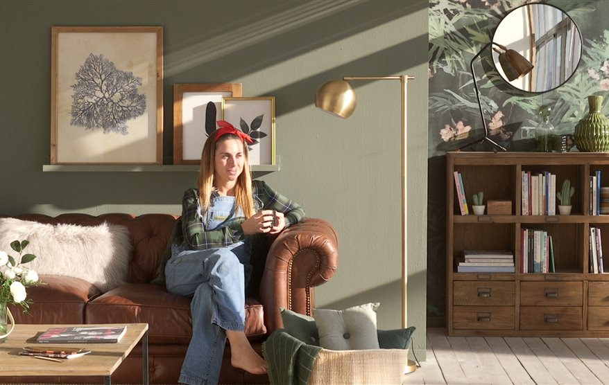 C mo pintar un sal n comedor con muebles oscuros - Salones con muebles oscuros ...