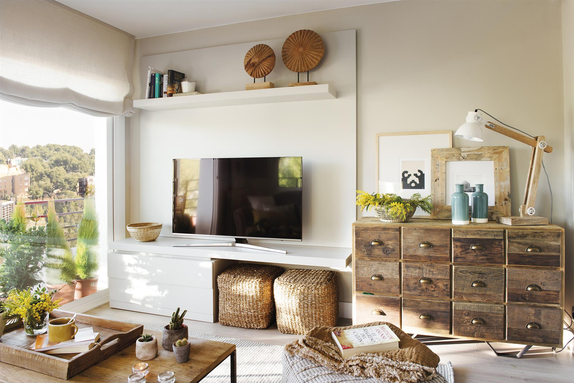 DSC3002. Un mueble de TV inspirado en Pinterest