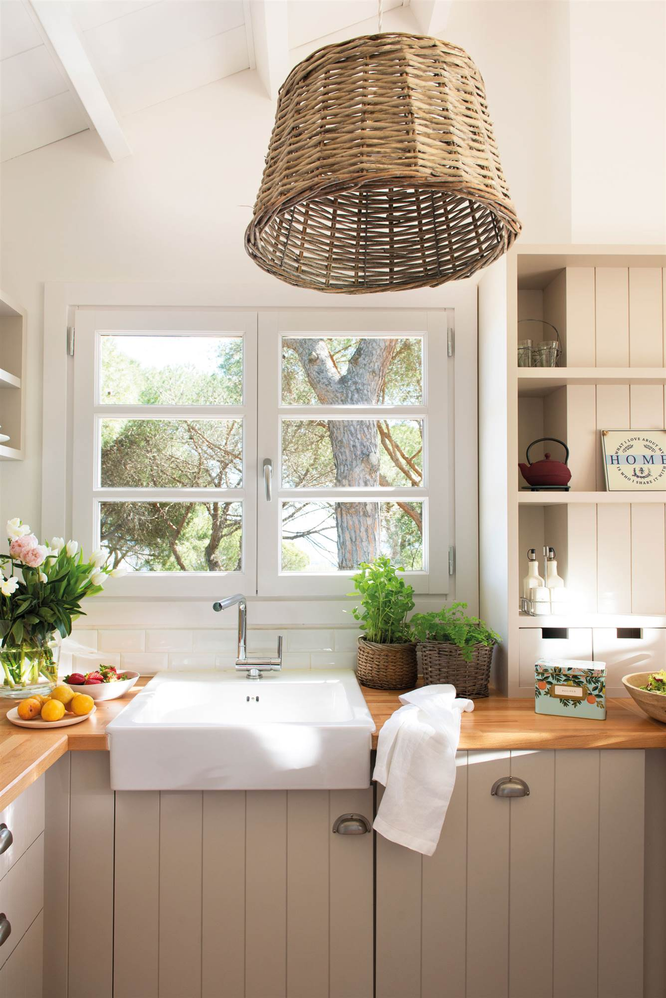 El estilo vintage llega a las cocinas, que se suman al market style