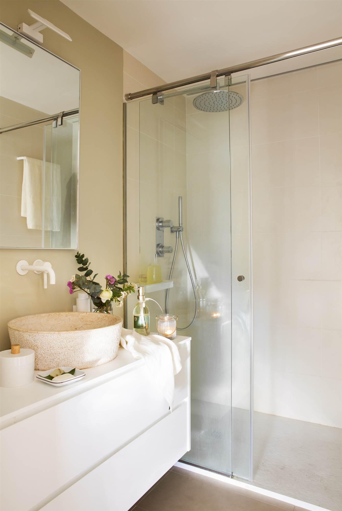 6 ba os peque os pero matones - Fotos de banos muy pequenos con ducha ...