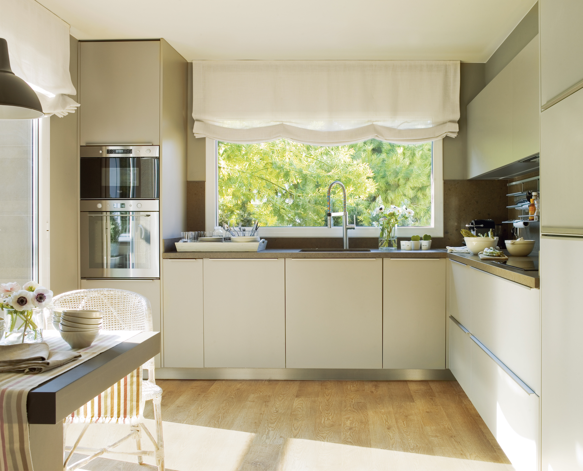 Ideas para planificar la cocina antes de una reforma - Cocinas blancas lacadas ...