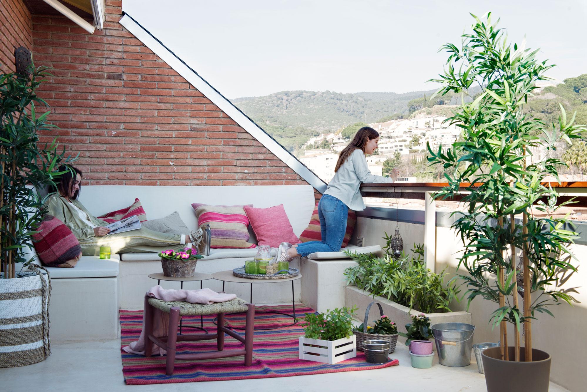 414 fotos de terrazas for Sofas terraza ikea