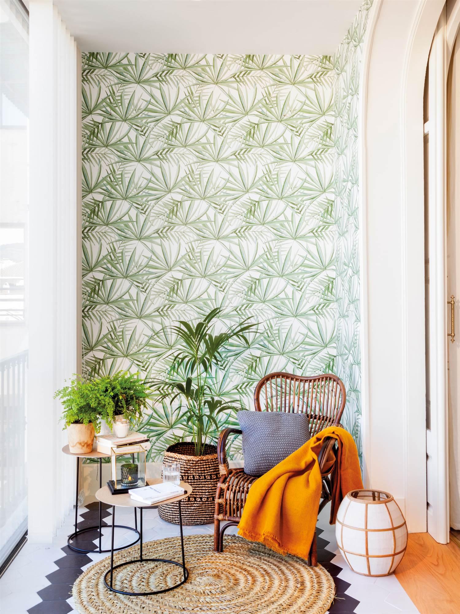 Detalles para dar a tu casa un toque ex tico for Papel con relieve para pared