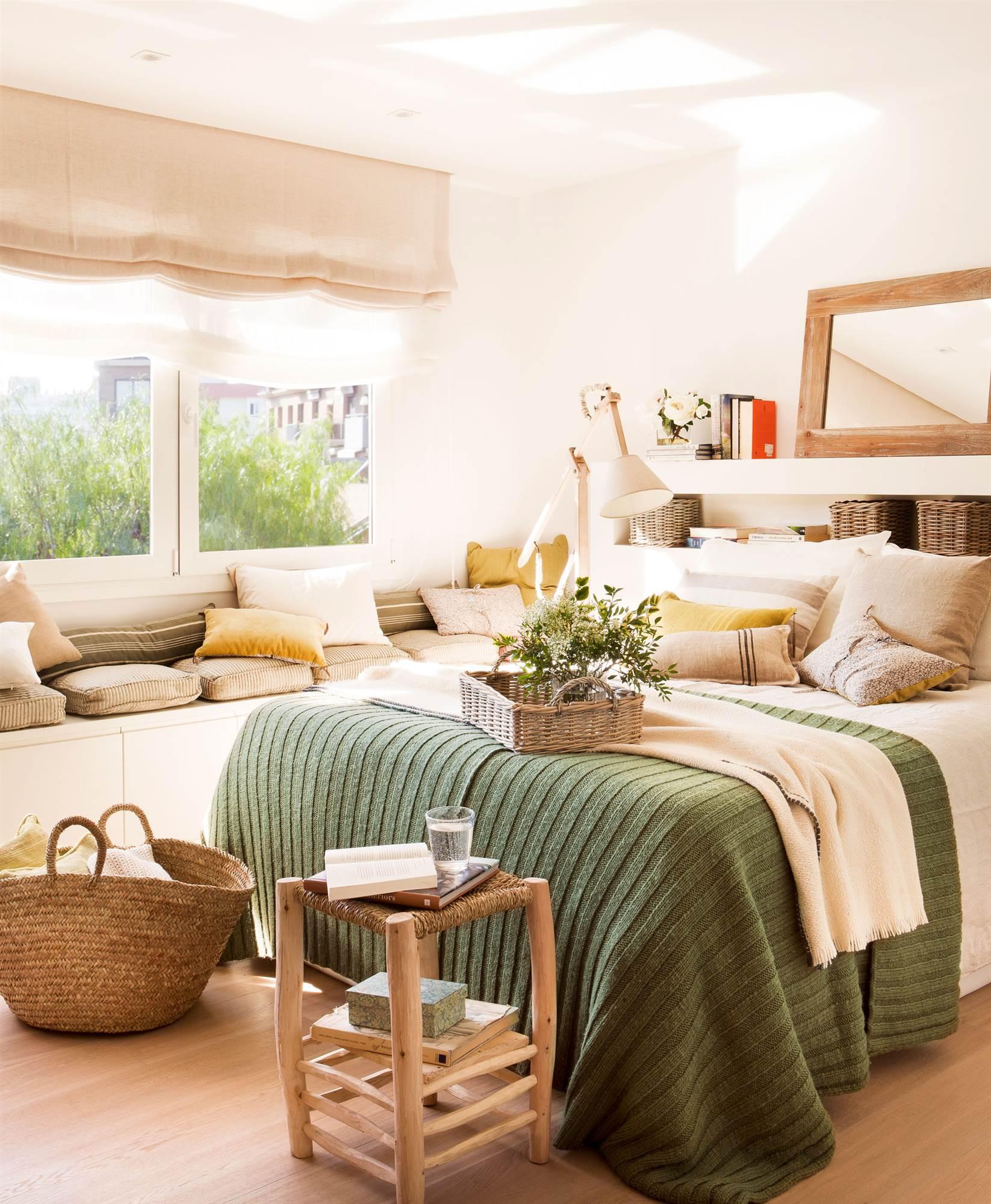 Cabeceros de cama de madera r sticos decorados o - Cabeceros de cama rusticos ...