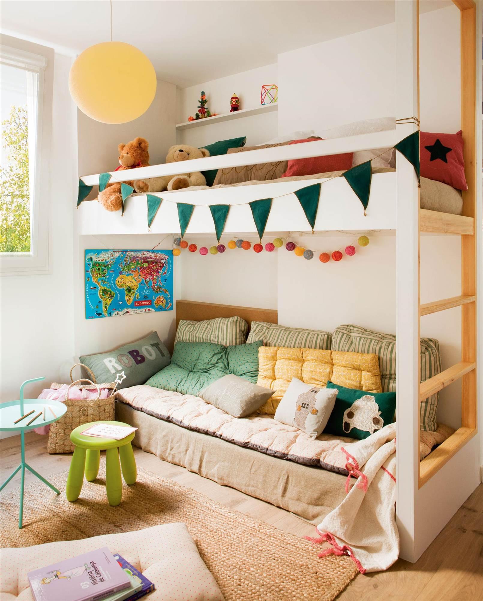 C mo amueblar la habitaci n infantil for Juego de dormitorio infantil