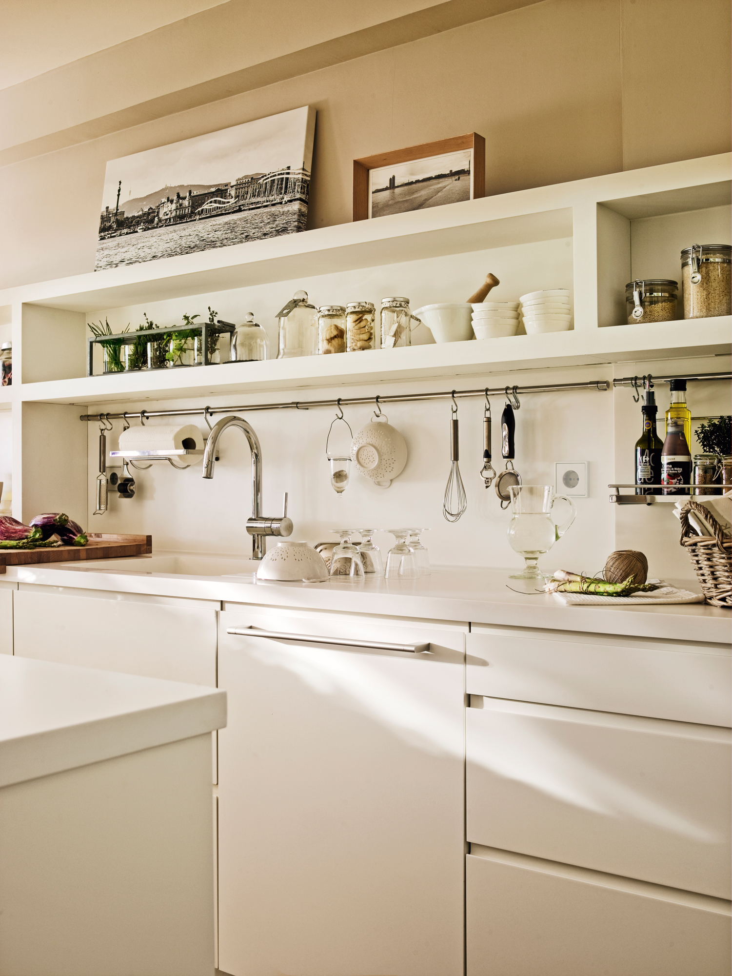 Accesorios para la cocina que optimizan el espacio y el orden