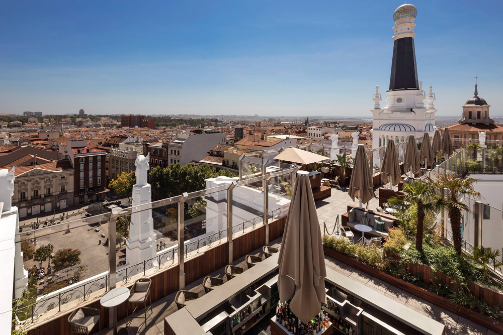 The Roof (Hotel Reina Victoria Madrid). The Roof, Hotel Madrid Reina Victoria