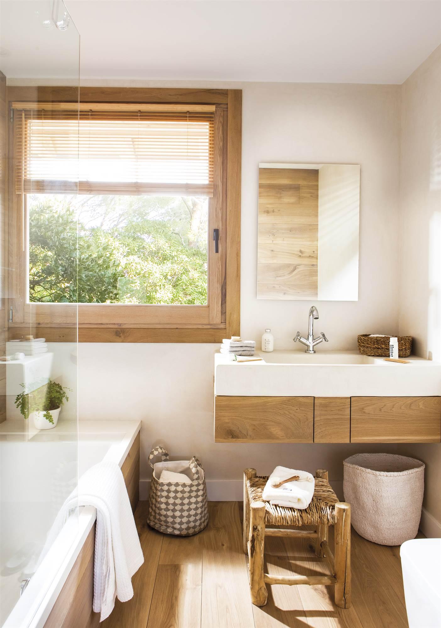 Baños pequeños muy bien decorados