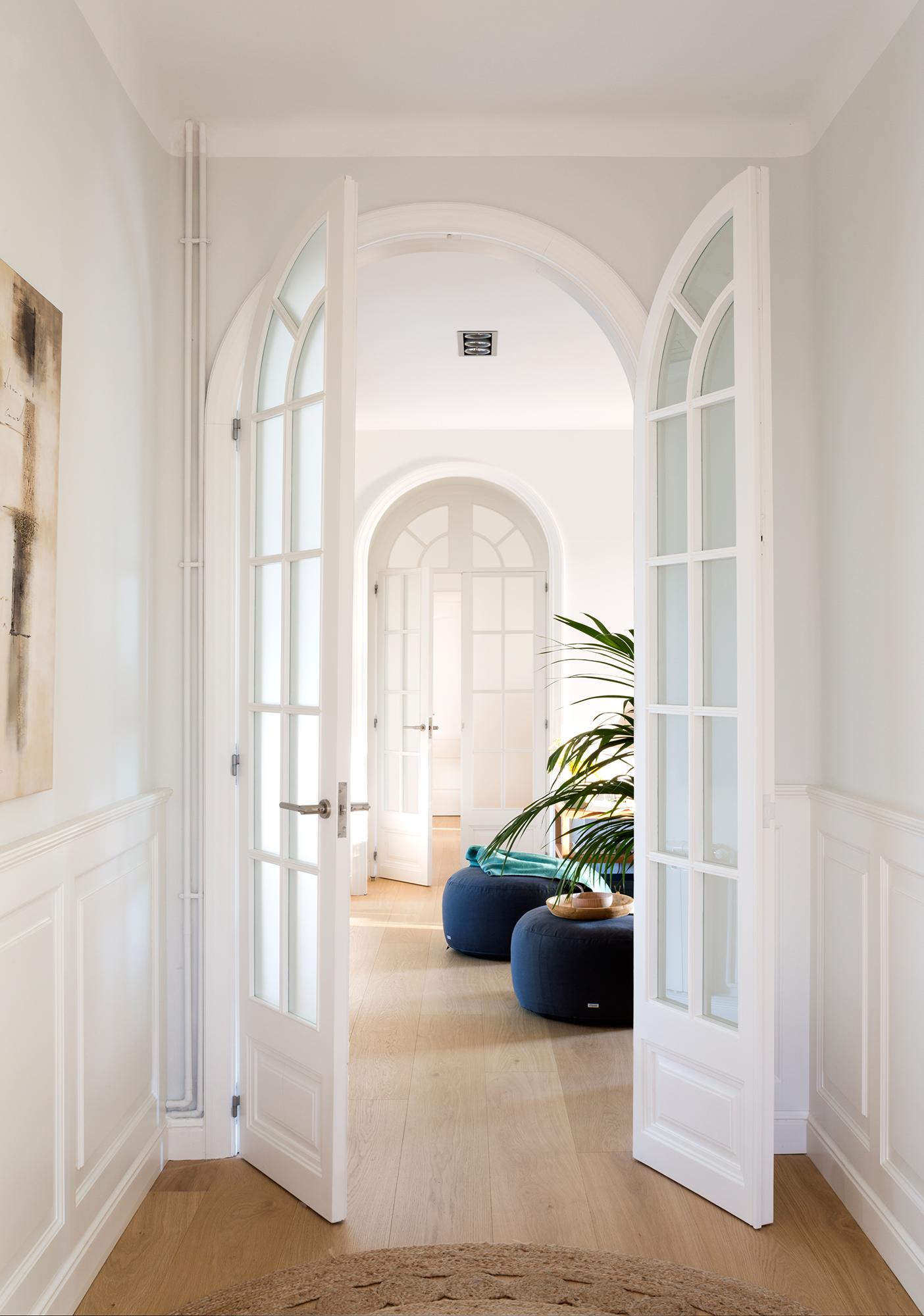 74 fotos de puertas de cristal - Puertas acristaladas exterior ...