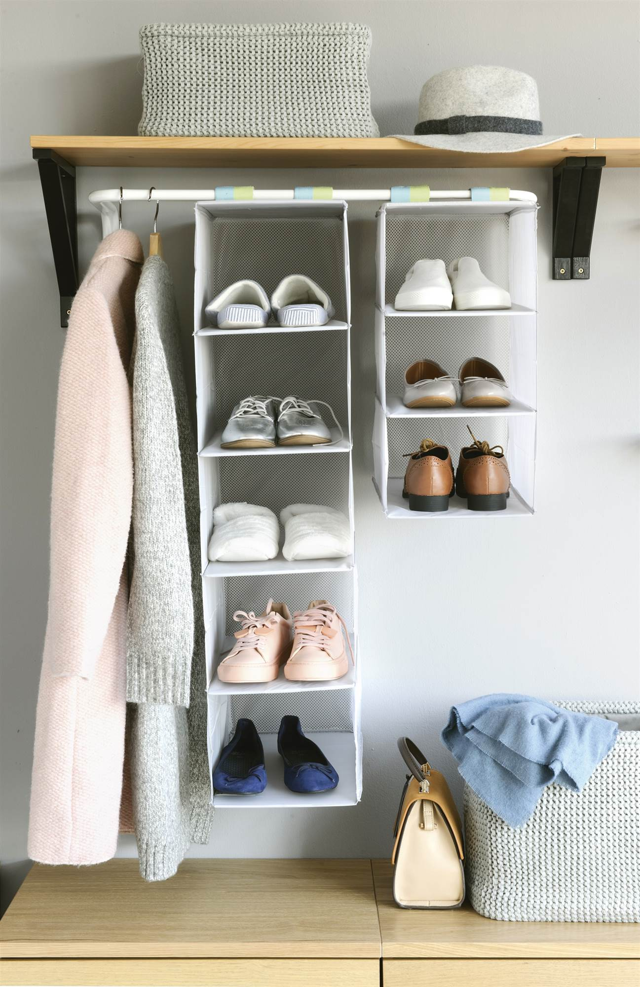 Como ordenar los zapatos en el armario - Armarios para zapatos ...