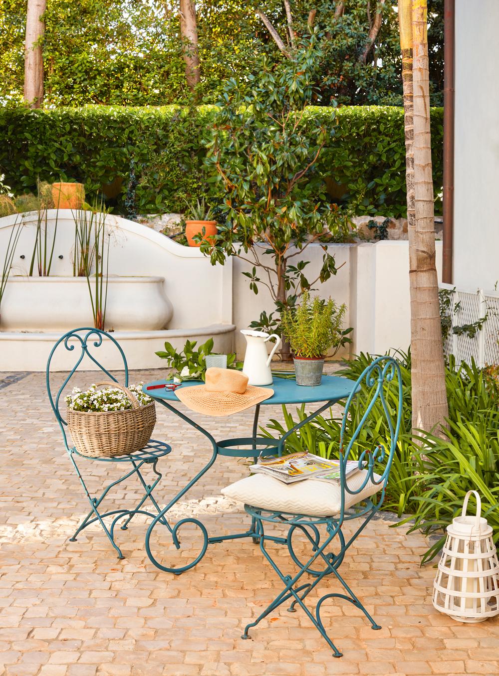 C mo conseguir una terraza perfecta - Fuentes para terraza ...