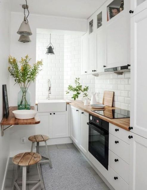 white kitchen ideas pinterest ideas para casas peque 241 as 22716