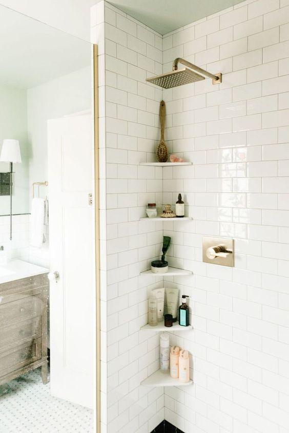 Ideas para casas peque as - Duchas pequenas ...