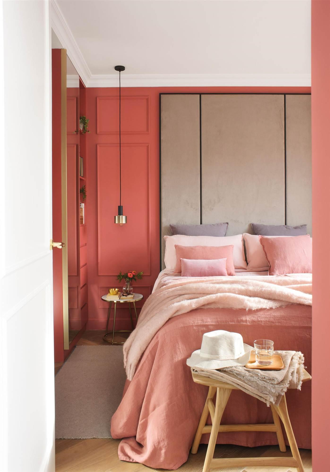Los colores perfectos para pintar las paredes del dormitorio - Colores para pintar una entrada ...