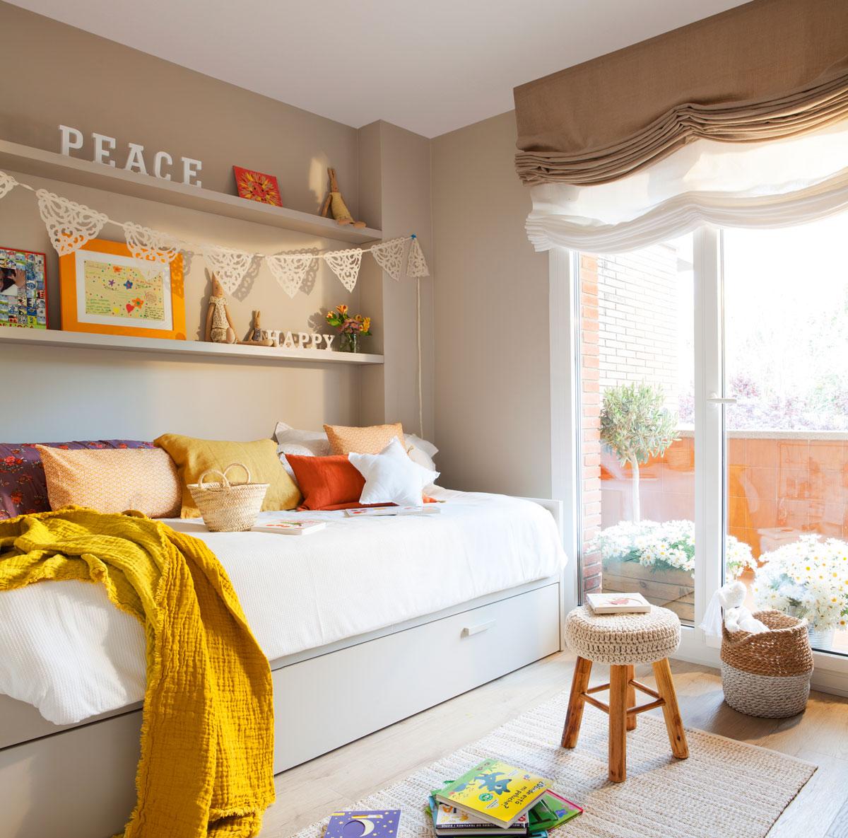 Pintar dormitorio infantil - Mueble de habitacion ...