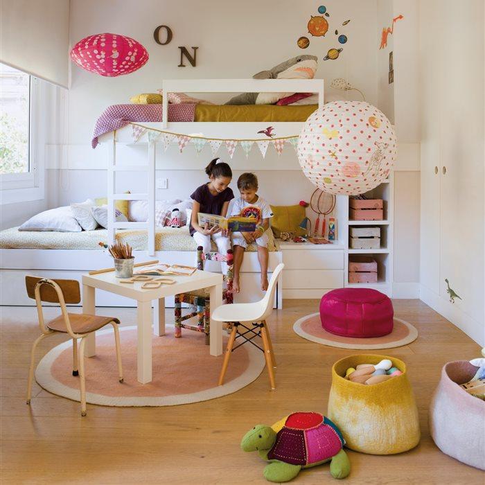 Decoración de habitaciones infantiles y espacios para niños