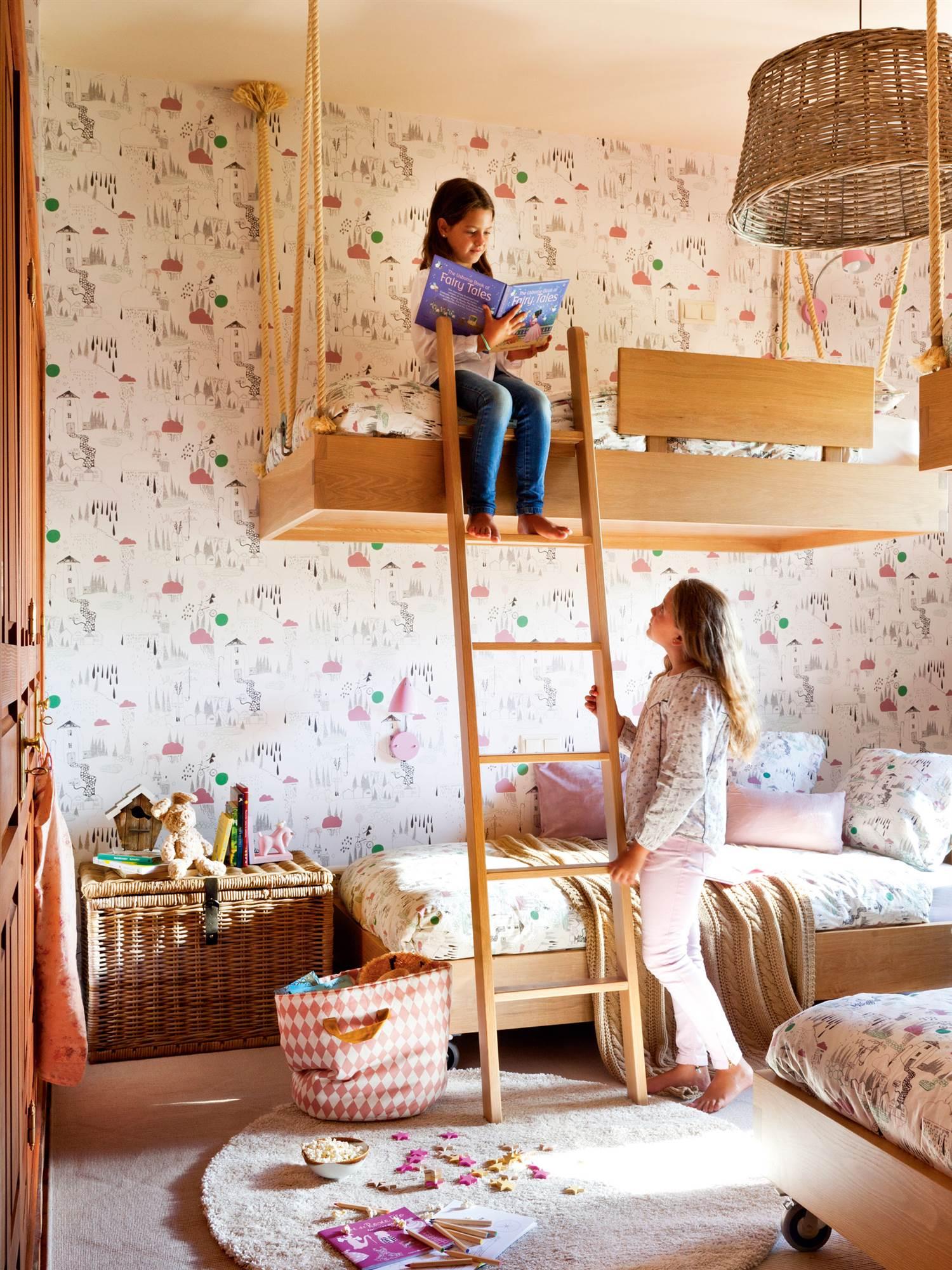 Literas de todos los estilos para habitaciones compartidas