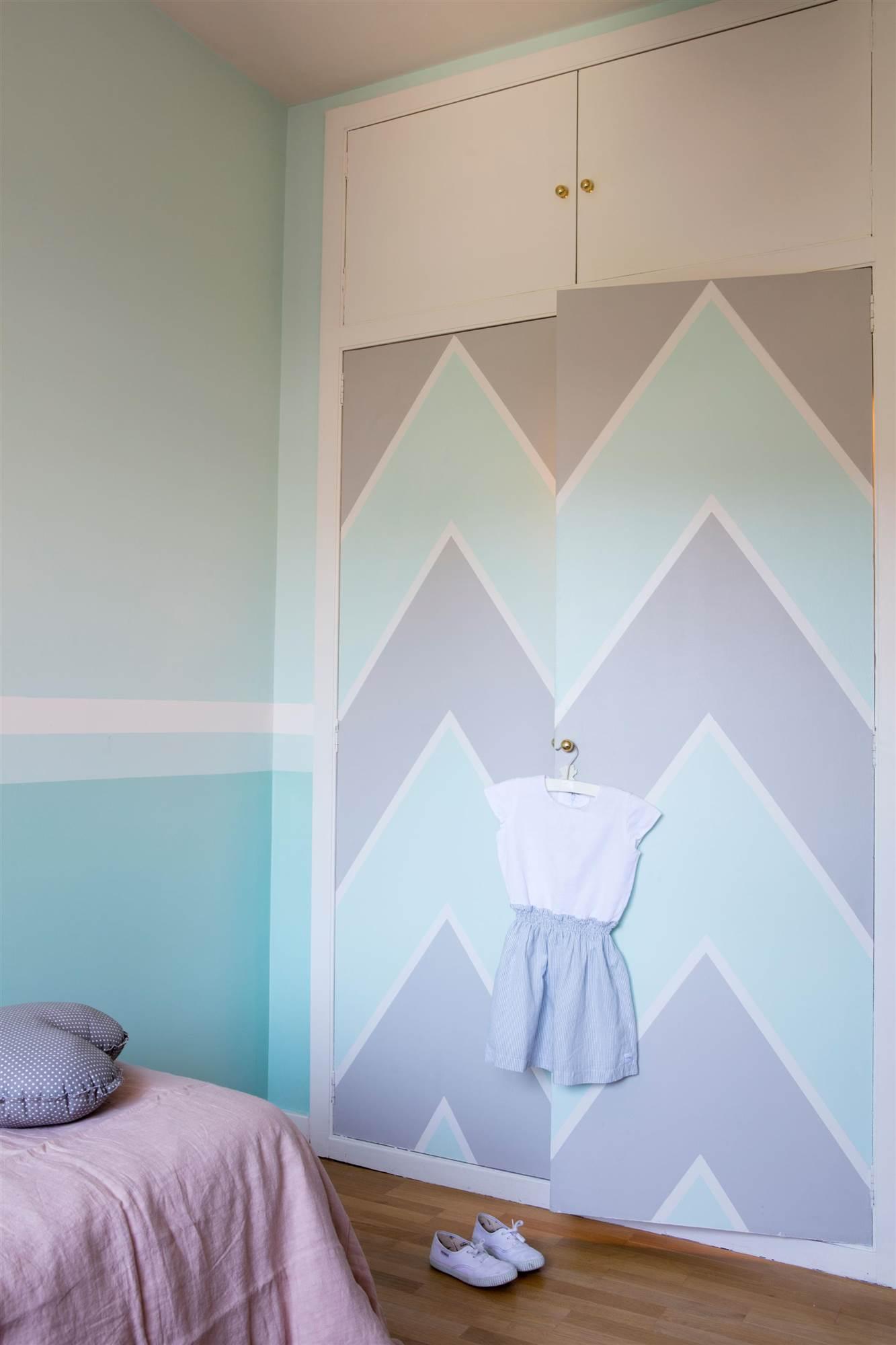 Pintar dormitorio infantil - Armario para habitacion ...