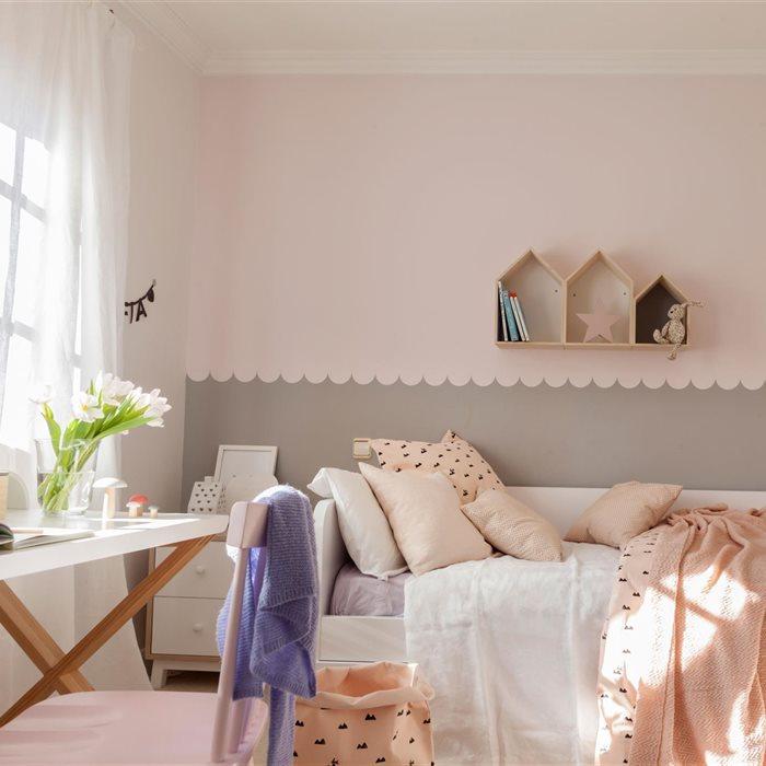 Un cuarto que crece con ellos - Pintar habitaciones infantiles ...