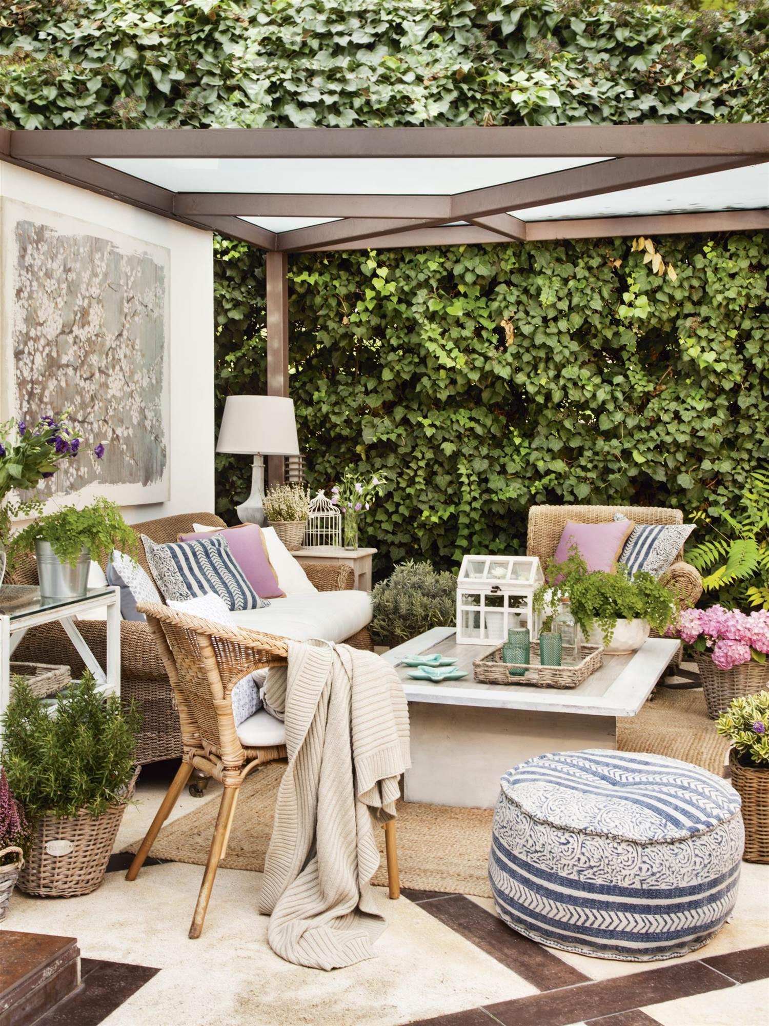 Pérgolas Para Terrazas Y Jardines Qué Tipo De Cubierta Es