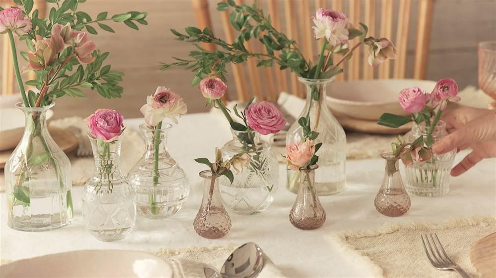 Como Decorar La Mesa Con Flores - Decorar-una-mesa
