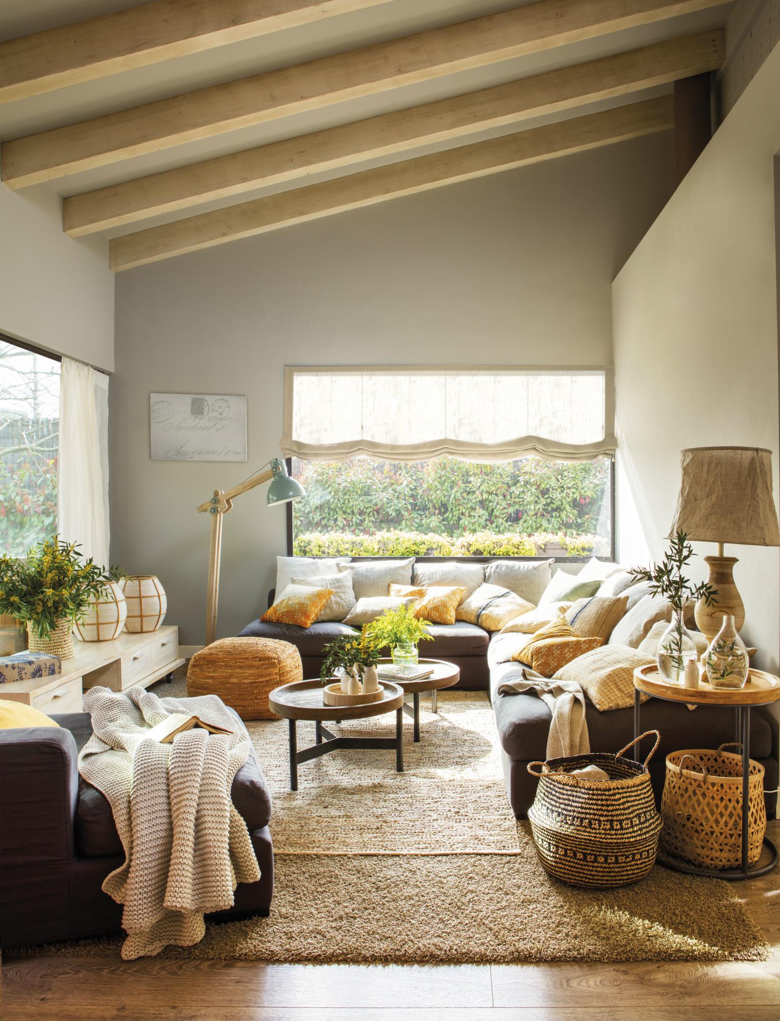 30 salones modernos y acogedores - Muebles para el salon ...