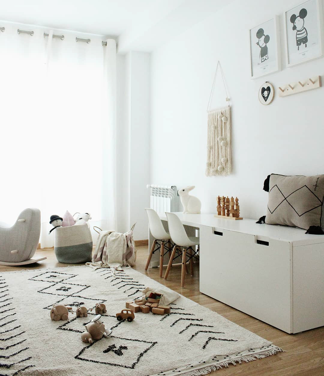 habitaciones infantiles nordicas Habitaciones Infantiles De Los Hijos De Las Famosas En Instagram