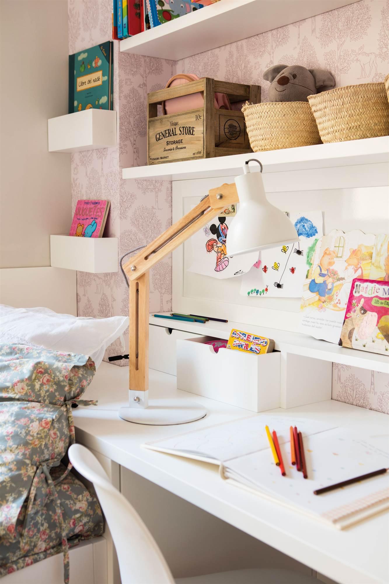 Habitaciones infantiles peque as en las que cabe todo - Muebles infantiles para habitaciones pequenas ...