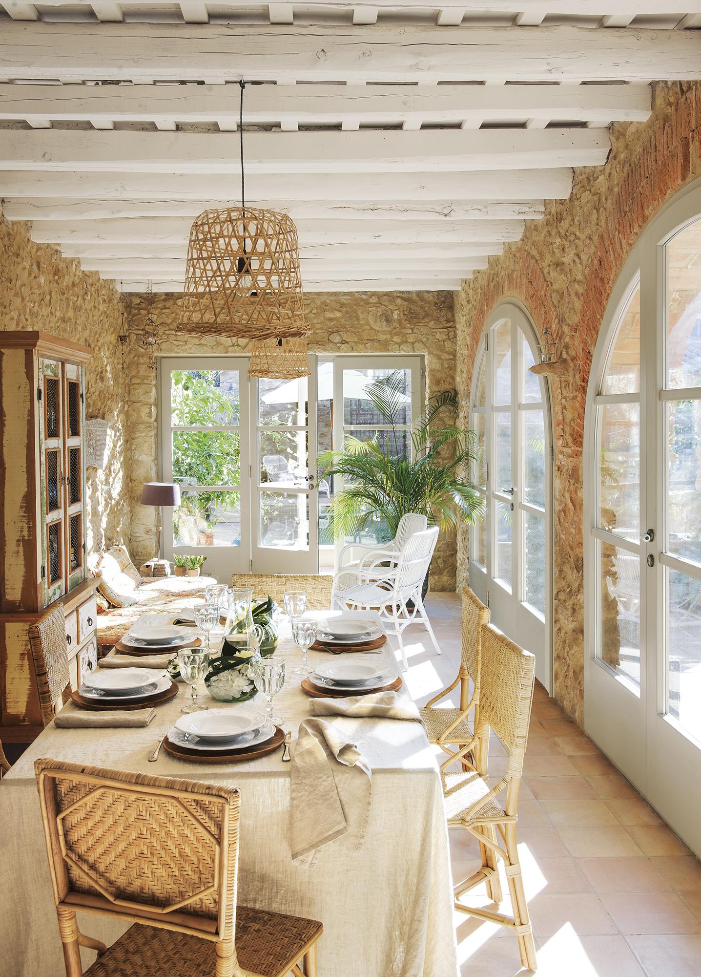 Maison en pierre en Espagne