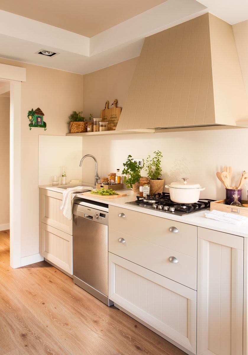 908 fotos de muebles de cocina - Cocinas con parquet ...