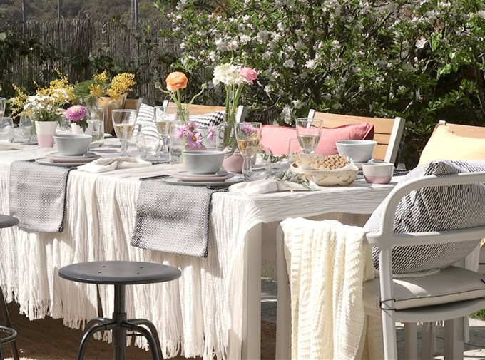 Comedores exteriores: decoración de comedores de terrazas y porches
