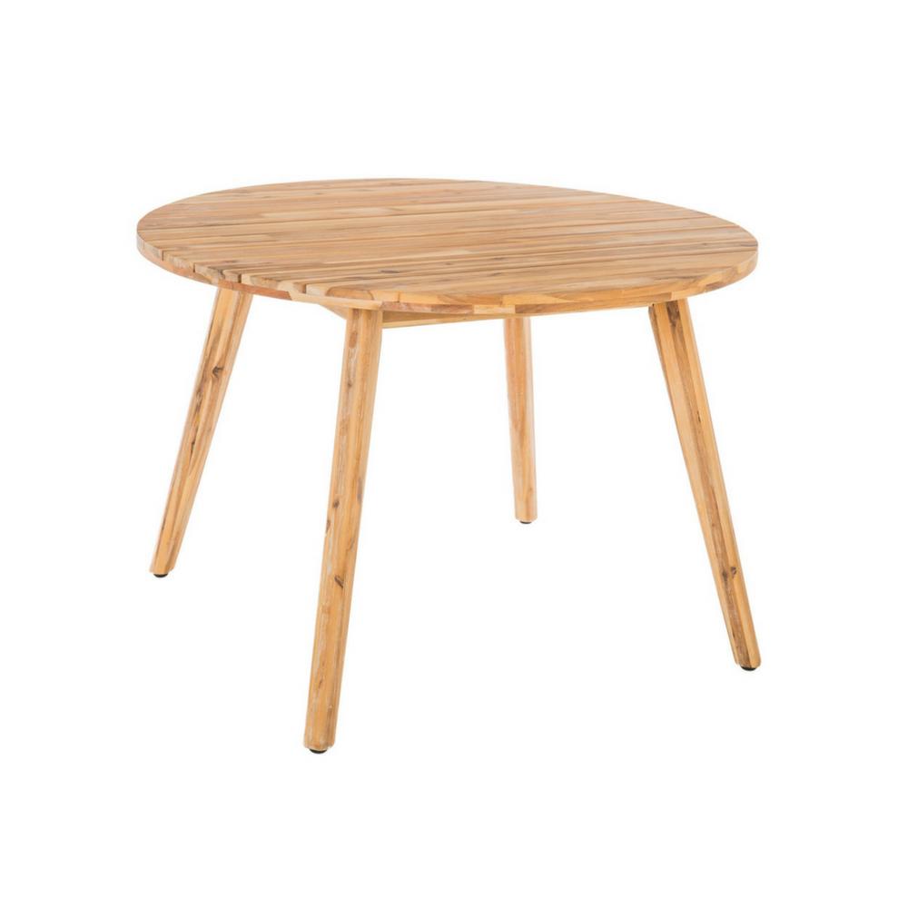 Sillas y mesas de exterior para copiar - Mesa madera exterior ...