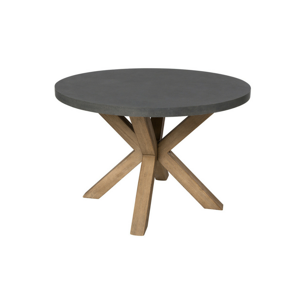 Sillas y mesas de exterior para copiar - Mesa redonda exterior ...