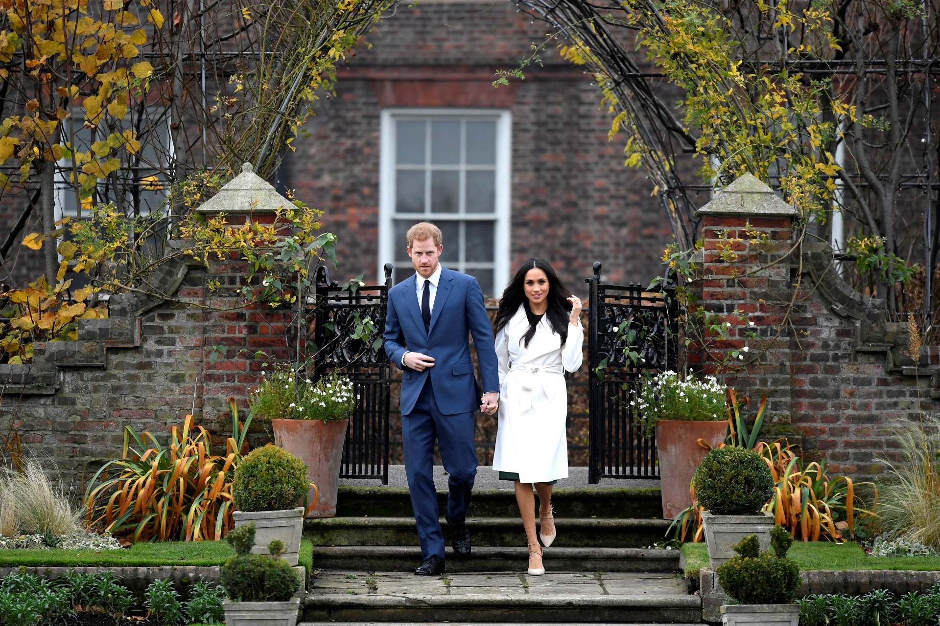 DL a01165161 002. El príncipe Harry y Meghan Markle